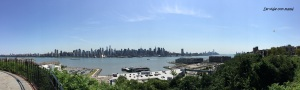 Vista de Manhattan desde Hamilton Park