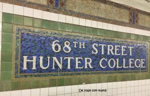 Parada de metro de la 68th St.