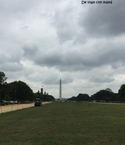 Vista hacia Monumento de Washington