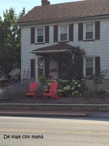 Esta casa estaba enfrente de la nuestra