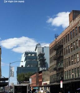 Inicio de High Line, Whitney Museum