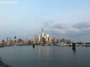 Vistas del Downtown desde Jersey City