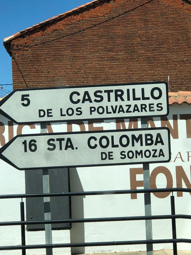 Desvío en Astorga