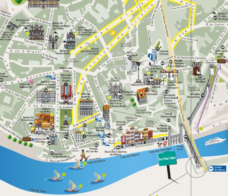 mapa ribera